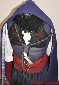 Traditional (Greek) costume from Crete. Late-Ottoman era, end of 19th century. (Crete was a part of the Ottoman Empire until 1898).
