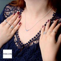 Mix and Match não se limita a combinações de anéis! Temos lindas gargantilhas que deixam o look ainda mais glam! <3