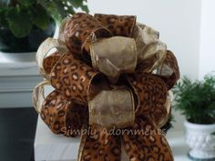 Leopard Party Leopard Winter Wedding by SimplyAdornmentsss,