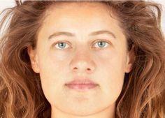Facial reconstruction made of Bronze Age woman 'Ava'