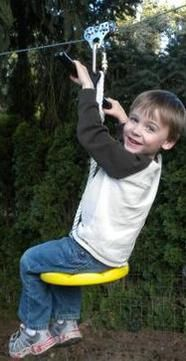Backyard Play Places offers residential playground equipment & accessories like zip line kits, swing & slide set, etc. Kids Outdoor Play, Kids Play Area, Backyard For Kids, Outdoor Fun, Play Areas, Outdoor Games, Natural Playground, Backyard Playground, Backyard Zipline