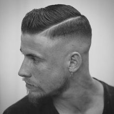 Side Part Hairstyle + High Bald Fade - Best Men's Hairstyles: Cool Haircuts For Men. Most Popular Short, Medium and Long Hairstyles For Guys hair styles for men 125 Best Haircuts For Men in 2019 Mens Medium Length Hairstyles, Mens Hairstyles Fade, Side Part Hairstyles, Cool Hairstyles For Men, Undercut Hairstyles, Cool Haircuts, Haircuts For Men, Men Hairstyle Short, Short Guy Haircuts