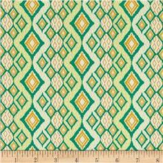 Art Gallery Fabrics Bijoux Exotic Bandana Oasis Lemon Yellow Mustard Green by ShopPetunias on Etsy https://www.etsy.com/listing/252176014/art-gallery-fabrics-bijoux-exotic
