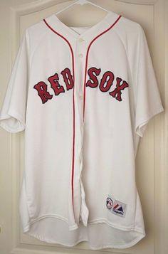 Majestic Baseball Boston Red Sox MLB  Dustin Pedroia 15 Size Large No Reserve #Majestic #BostonRedSox
