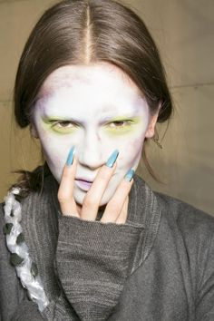 The elongated nails at Vivienne Westwood were anything but ordinary (very fitting for the designer).