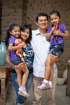 Fair Trade changed this father's life ~ Inspiring stories for a hard working dad.