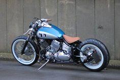 Bobber Kit, Bobber Bikes, Bobber Motorcycle, Bobber Chopper, Hd Motorcycles, Concept Motorcycles, Suzuki Motos, Yamaha V Star, Harley Davidson Chopper