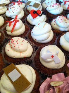 Nurse Appreciation Cupcakes