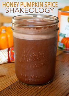 This recipe will change how you look at pumpkin spice drinks forever. It's smooth, creamy, and uses real pumpkin to keep the shake natural and healthy. A touch of honey adds just the right amount of sweetness, making it a delightful treat for any time of day, and any time of year! // Shakeology // Thirsty Thursday // beachbody // beachbody blog