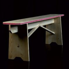 EKO bench (various colours). Designed by Béô design. Available at Darwin's Home on http://www.darwinshome.com/en/furniture/639-eko-bench.html