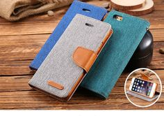 Leisure Stand Wallet Flip Leather Case With Card Slot //Price: $12.94 & FREE Shipping //     #phoneromeo