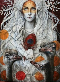 Paintings by Sophie Wilkins