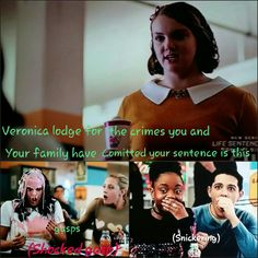 Not sure if this is correct but its funny Pretty Little Liars Netflix, Once Upon A Time Funny, River Dale, Riverdale Funny, Do You Know Me, Shows On Netflix, Girly Outfits, Pinterest Board, Stranger Things