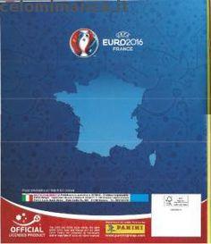 Retro dell'Album UEFA EURO 2016™ Official Sticker Album
