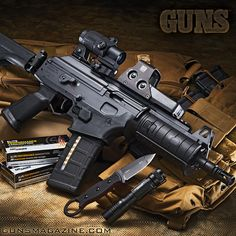 How about an Ace with a brace? ⬅️♠️ IWI's .223 Galil Pistol. The Ace is available in 7.62x39 and 5.56x45 NATO calibers. More in the January 2018 issue of GUNS Magazine @gunsmagazine.com Follow Us! #iwi #galil #eotech #topsknives #righttobeararms #2a #igmilitia #fullautofriday #streamlight #sigsauer