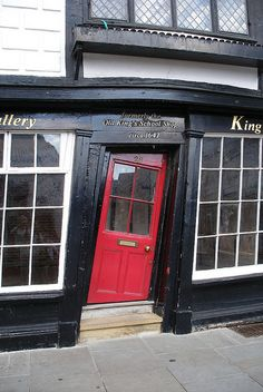 """Canterbury """"They"""" say, a crooked door was purposely built...to keep the bad spirits way. (I saw this oddity, many times on my trips)"""