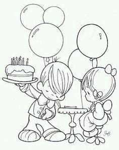 Precious moment birthday