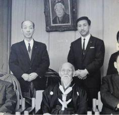 PARTAGE OF O SENSEI UESHIBA MORIHEI FOUNDER OF AIKIDO...........ON FACEBOOK................