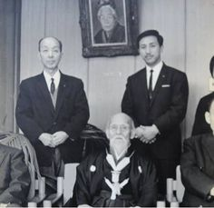 PARTAGE OF O SENSEI UESHIBA MORIHEI FOUNDER OF AIKIDO...........ON FACEBOOK................