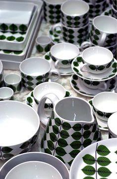 Berså Plate collection designed by Stig Lindberg