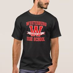 Westerburg High School T-Shirt - tap, personalize, buy right now!