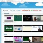 Edutin, docenas de cursos en vídeo en español de diferentes temas y gratis