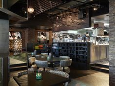 Restaurant Asia, designed by Metropolis arkitektur & design. Liquor Cabinet, Asia, Restaurant, Interior, Projects, Furniture, Design, Home Decor, Log Projects