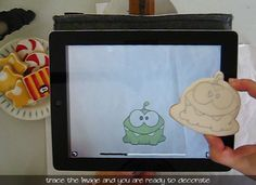 How to Draw on a Cookie with an iPad | Klickitat Street