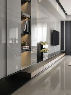 cool and calm interior, natural tones with some dark areas ....