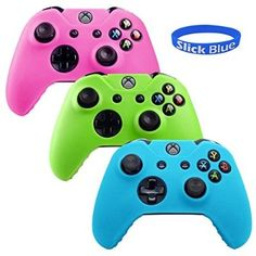 nice 3 in 1 MicroSoft Xbox One Glow in Dark Controller Protective Case Cover Blue/Green/Pink [Xbox One] - For Sale Check more at http://shipperscentral.com/wp/product/3-in-1-microsoft-xbox-one-glow-in-dark-controller-protective-case-cover-bluegreenpink-xbox-one-for-sale/