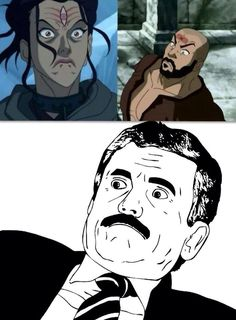 Legend of Korra/ Avatar the Last Airbender: the face - laughed out loud Avatar Aang, Team Avatar, Avatar The Last Airbender, The Face, Baguio, The Last Airbender Movie, Avatar World, Avatar Series, Korrasami