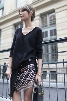 They Are Wearing: Paris Fashion Week - Parisienne
