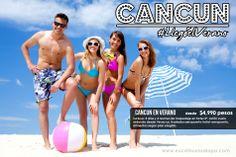 Vamonos este Verano a Cancún, desde $4,990 pesos, incluye vuelos!   Agencia de Viajes en Xalapa Excel Tours