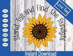 Sunflower quote cricut Sunflower Flower SVG Sunflower image 0 Sunflower Quotes, Sunflower Flower, Flower Svg, Sunflower Stencil, Sunflower Clipart, Sunflower Images, Go Create, Photoshop Illustrator, Mug Designs