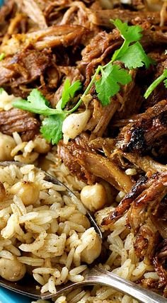 Middle Eastern Shredded Lamb