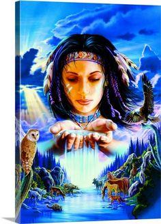 Sacred Waters  Robin Koni  kK