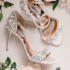 """Hitched Fashion & Styling on Instagram: """"Got to love a sparkly pair of heels #repost @badgleymischkabride Dream shoes 🤍✨ #inspiration #badleymischka"""" Cute Presents For Boyfriend, Birthday Gifts For Boyfriend, Gifts For Husband, Boyfriend Gifts, Gifts For Mom, Bridal Shoes, Wedding Shoes, Best Friend Gifts, Best Gifts"""