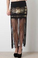 Foil Tribe Skirt