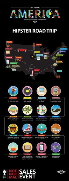 The Perfect Hipster Road Trip [INFOGRAPHIC]: http://www.departful.com/2012/10/the-perfect-hipster-road-trip-infographic/