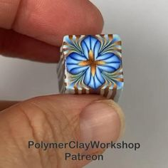 People have been asking for a better tutorial of this. There is a free video on my Patreon page! Polymer Clay Canes, Polymer Clay Projects, Diy Clay, Polymer Clay Jewelry, Clay Crafts, Sculpture Clay, How To Make Beads, Chess, Biscuit