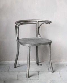 Sedia in metallo - iron chair http://www.griffegenova.com/Griffe_Home/Divani_pint_new.html