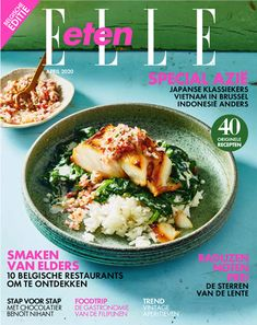 5 x verfrissende tapas - ELLE.be High Tea, Tapas, Vegan, Make It Simple, Cocktails, Menu, Kimchi, Ethnic Recipes, Magazines