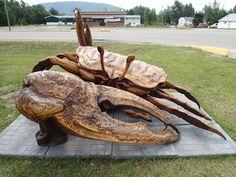 Living The Dream...: Sunday, June 23, 2013 (Travel to Lynx Creek RV Park, Hudson's Hope, BC)