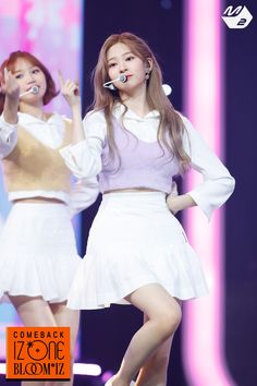 Photo album containing 9 pictures of Minju Stage Outfits, Kpop Outfits, Kpop Girl Groups, Kpop Girls, Japanese Girl Group, Twitter Update, Kim Min, Latest Images, Her Smile