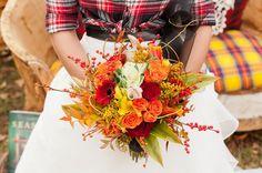 Pochwalcie się swoimi jesiennymi kompozycjami do sukienek ślubnych!