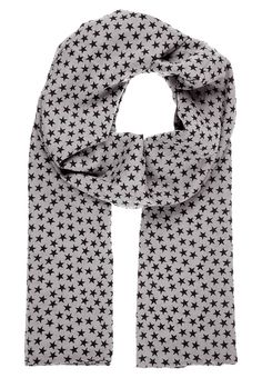 WINTER STAR Scarf grey-black Becksöndergaard
