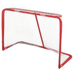 "Mylec 72"" Official Pro Steel (Silver) Ice Hockey Goal"