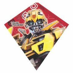 XKites SkyDiamond 23 Inch Kite - Transformers Bumblebee