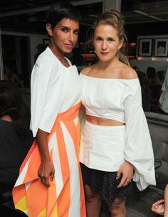 Princess Deena Al-Juhani Abdulaziz & Claire Distenfeld