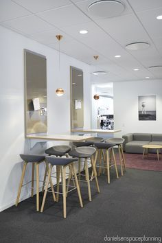 Touch Down / informal meeting - E-conomic's office interior design in Copenhagen - by Danielsen Spaceplanning
